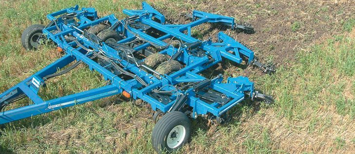 The Smart-Till uses knives to break up the soil surface.  |  File photo