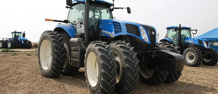 Video: New Holland's selective catalyst reduction-only strategy, a WP Production special, in this week's Update. | Mike Raine photo.
