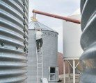 Producers without aerated bins should consider unloading grain and turning it manually, says an agronomist.   |   File photo
