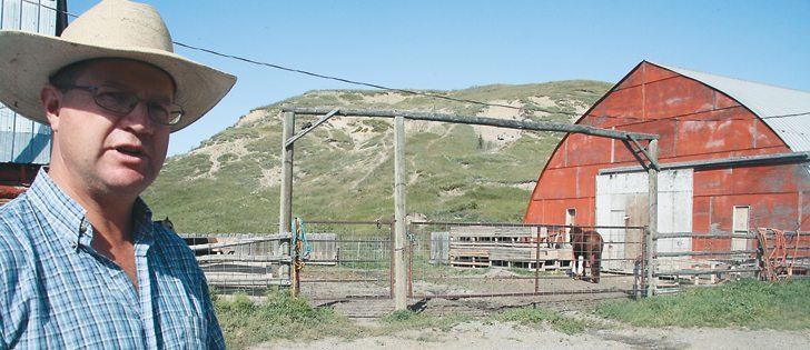 Waldron Ranch manager Michael Roberts says the new ranch has been kept in excellent condition.  |  File photo