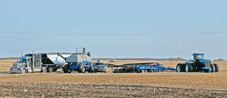 Bruce Burnett, CWB weather and crop specialist, estimates 60 percent of Manitoba's crop was in the ground as of June 2. The situation improves as you move west with Saskatchewan at 88 percent and Alberta essentially done. | Robin Booker photo