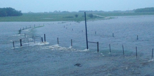 Heavy rain has created flood plains in the Redvers area of Saskatchewan.  |  Shawna Sandborn photo