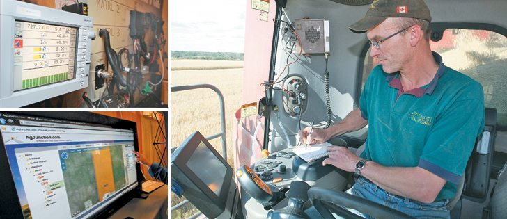 New technology and agronomic advisory services offer a leap forward in precision farming, but also create a massive bank of data, creating the need for privacy protections.  |  File photos