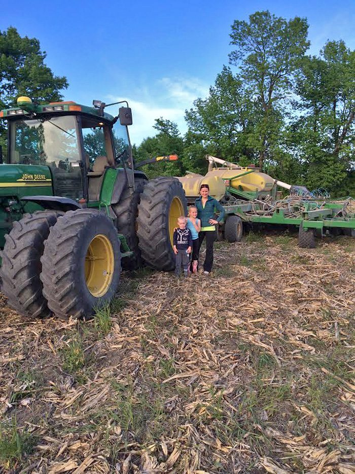 Neil & Mel Hamilton Greetings Western Producer! We love reading the weekly paper, and would like to enter the Seeding Pictures #plant14 contest!
