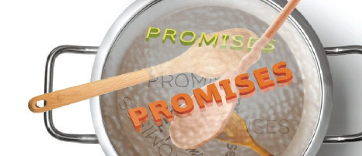 A grain company worries commodity groups on promotional trips make promises that can't be kept. | WP graphic