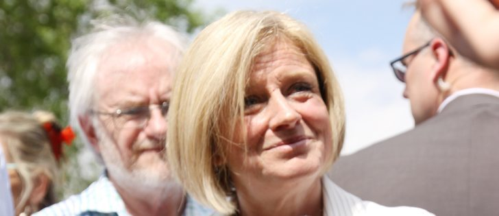 Alberta premier Rachel Notley. | File photo