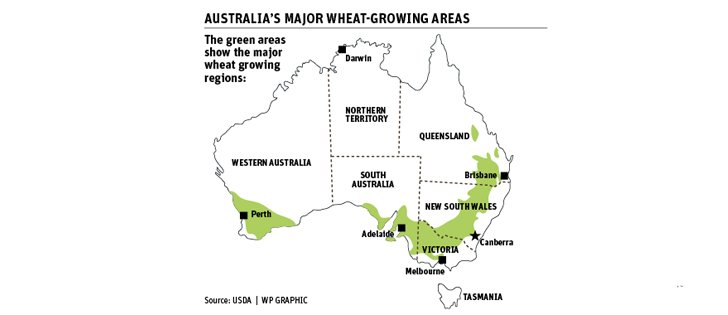 El Nino could slash eastern Australian winter crop