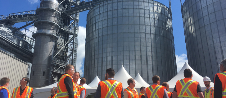 G3 Canada officially opened a new export terminal at the Port of Hamilton in southern Ontario this week. | G3 Canada photo