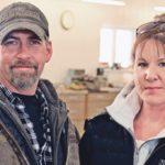Darryl and Lisa Klassen in their newly-build shop near Kindersley, Saskatchewan. | Robin Booker photo