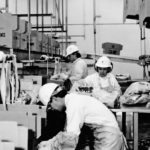Workers prepared beef for boxing at the Cargill Foods plant in High River, Alta., in 1990.  |  File photo