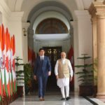 In in a joint press release from Trudeau and Indian Prime Minister Narendra Modi today, it stated the prime ministers both see the importance of ensuring access to sufficient, safe and nutritious food. | Twitter/@narendramodi photo