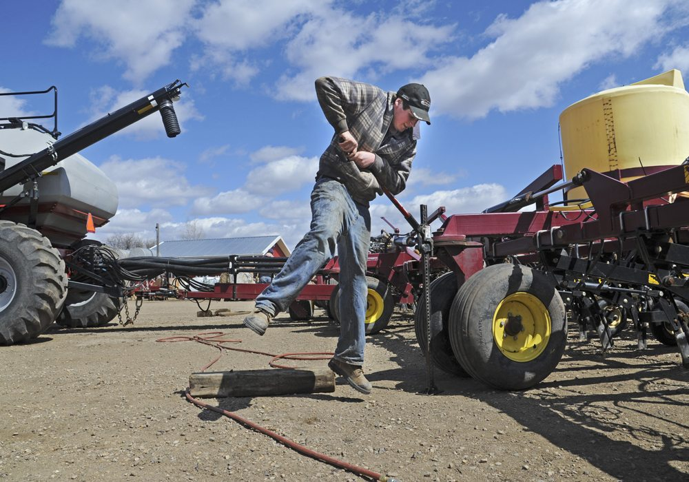 It's important for Alberta farmers to ensure they are in compliance with new labour laws.  |  File photo