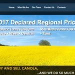 Input Capital pays farmers in advance for their crops, mainly canola. The farmers rely on Input Capital to take delivery of the crops after harvest on behalf of country elevator buyers that Input contracts with. | Screecap via inputcapital.com
