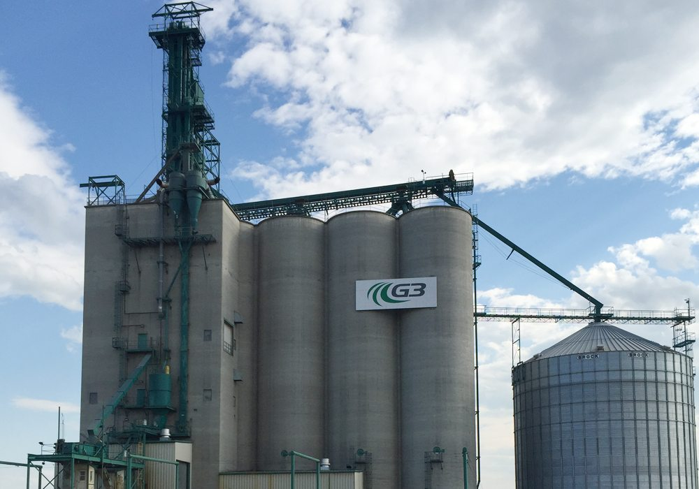 The Winnipeg based grain company announced earlier today that Karl Gerrand, the company's top executive since early 2015, is no longer with the company. Gerrand has been replaced by Don Chapman. | File photo