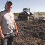 Bill Boese is turning bush into new cropland on his farm near Fort Vermilion, Alta.  |  Jeremy Simes photo