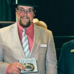 Alberta man wins world livestock auctioneering crown