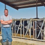 Allan Huttema has had a dairy farm on both sides of the Canada - U.S. border and now milks about 800 cows near Parma, Idaho.  |  Barb Glen photo