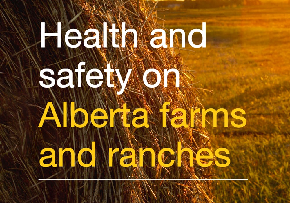 Producers looking to enhance safety on their farm or ranch can now apply for grants from the Alberta government. | Screencap via www.alberta.ca