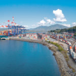 The Port of Prince Rupert's recently expanded Fairview Container Terminal moved one million 20-foot equivalent shipping containers last year.  |  Port of Prince Rupert photo