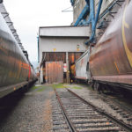 Canadian Pacific Railway saw fourth-quarter freight revenues from shipping grain increase by five percent.  |  File photo