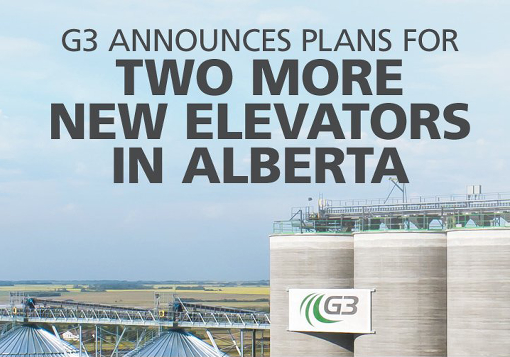 Construction on the new elevators is expected to start this summer, pending final regulatory approvals, the company announced today. Completion is scheduled for 2020. | Twitter/@G3_Connection image