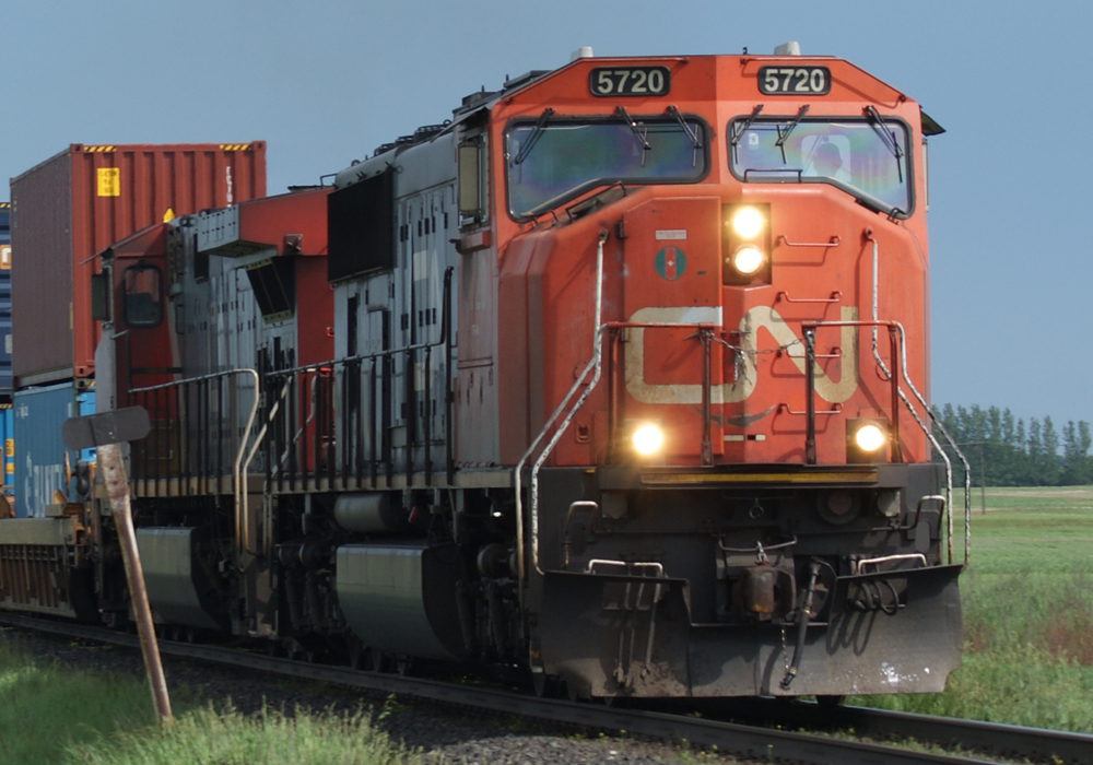 The Canadian Transportation Agency has ruled that Canadian National Railway breached service obligations to shippers in the Canadian pulp industry when it announced plans to impose rail freight embargoes on pulp and paper shippers last September. CN officials said they intend to appeal. | File photo