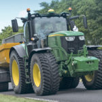RoadBib is designed for tractors that split their time between field and road, such as manure, silage, grain carts, water tanks and spreading equipment.  |  Michelin photo