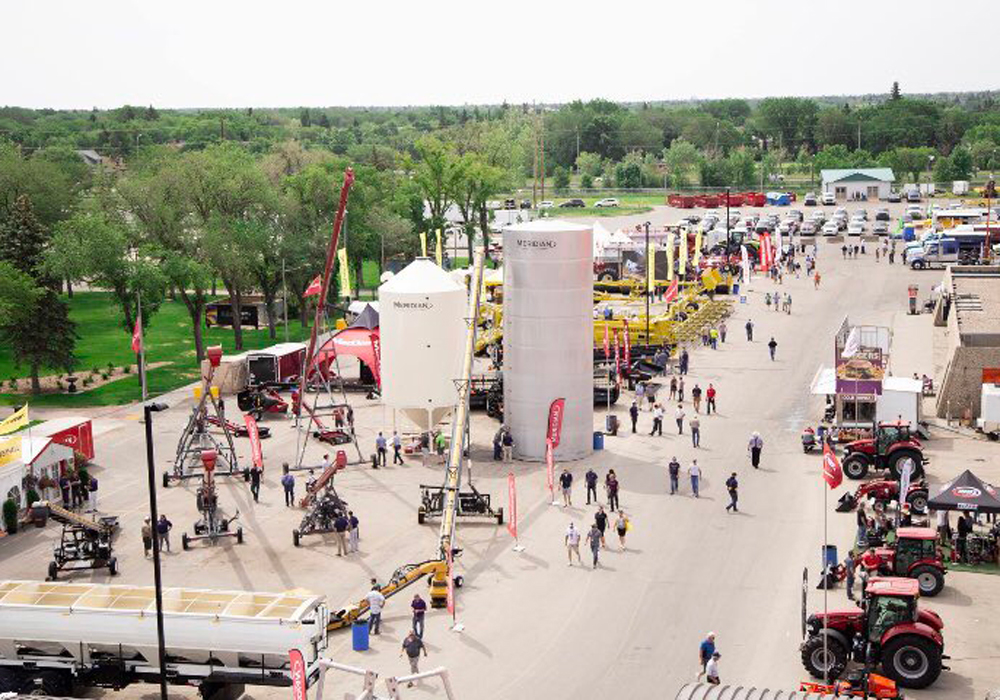 Evraz Place chief executive officer Tim Reid said the show will shift to a mid-week format, running Tuesday-Wednesday-Thursday rather than the current Wednesday through Friday. | Twitter/@CanadaFarmShow photo