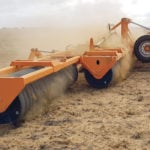 V-ring design offers field roller improvement