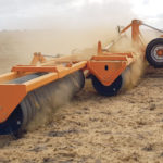 The TatraBears field rollers are large diameter units, but with shorter sections than many rollers of this class. Similar to packer designs seen in both Canadian and European built vertical tillage equipment, the grooved system is effective for rock suppression.  |  TatraBears photo