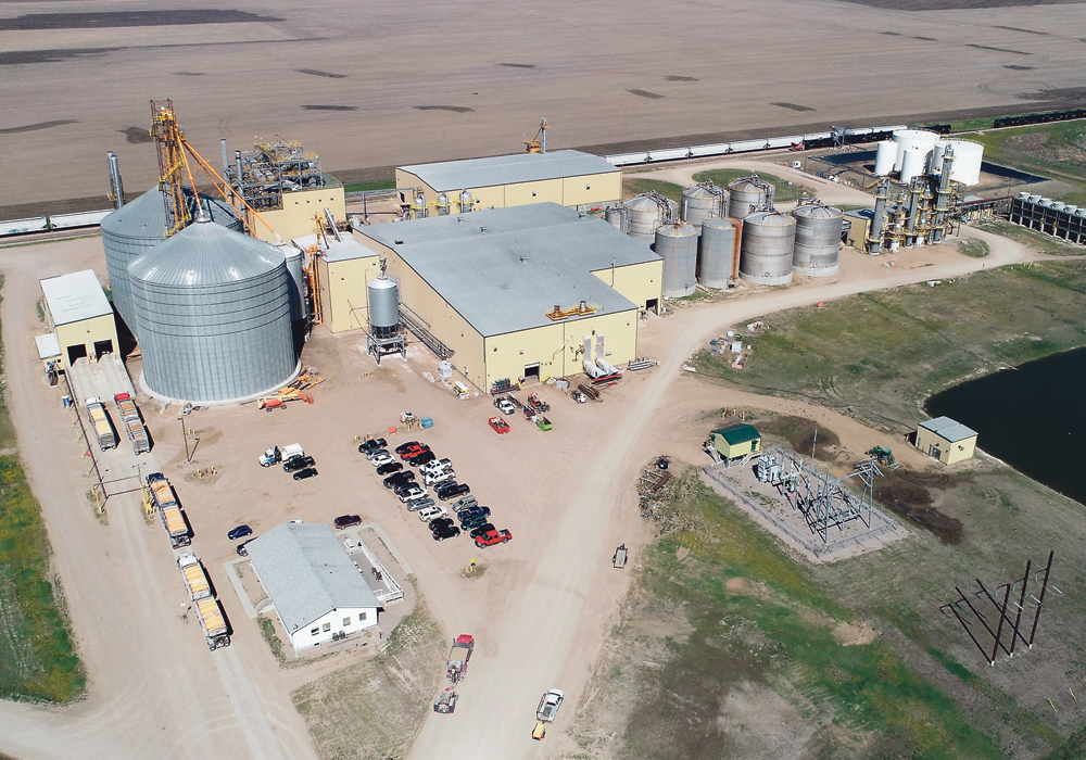 Federated Co-operatives hopes to lower the carbon intensity of ethanol production at the Terra Grains Fuels plant.  |  FCL photo