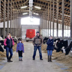 The Morrison family operates a dairy operation near Woodslee, Ont., and has been expanding the operation as quickly as quota allows.  |  Vicky Morrison photo
