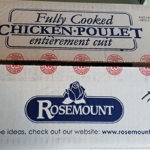 Baby food, chicken face recall