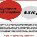 Survey asks organic farmers about glyphosate effects