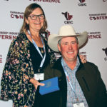 Wade and Sandra Clifton of Keremeos, B.C., received the national environmental stewardship awarded at the recent Canadian Beef Industry Conference in Calgary.  |  Barbara Duckworth photo