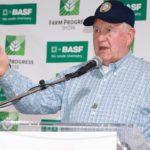 U.S. Ag Secretary Sonny Perdue during a media scrum at the Farm Progress Show in Decatur, Illinois  |  Robin Booker photo