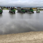Harvest has been delayed in many areas of Manitoba after 50 to 125 millimetres of rain has fallen since Sept. 20. | Twitter/@CameronHild photo
