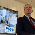 Premier Brian Pallister lauds the $94 million investment Paterson is making and the 70 permanent jobs it will create. | Ed White photo