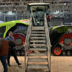 Claas adds four-track articulated