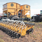 Single rank drill provides precision planting