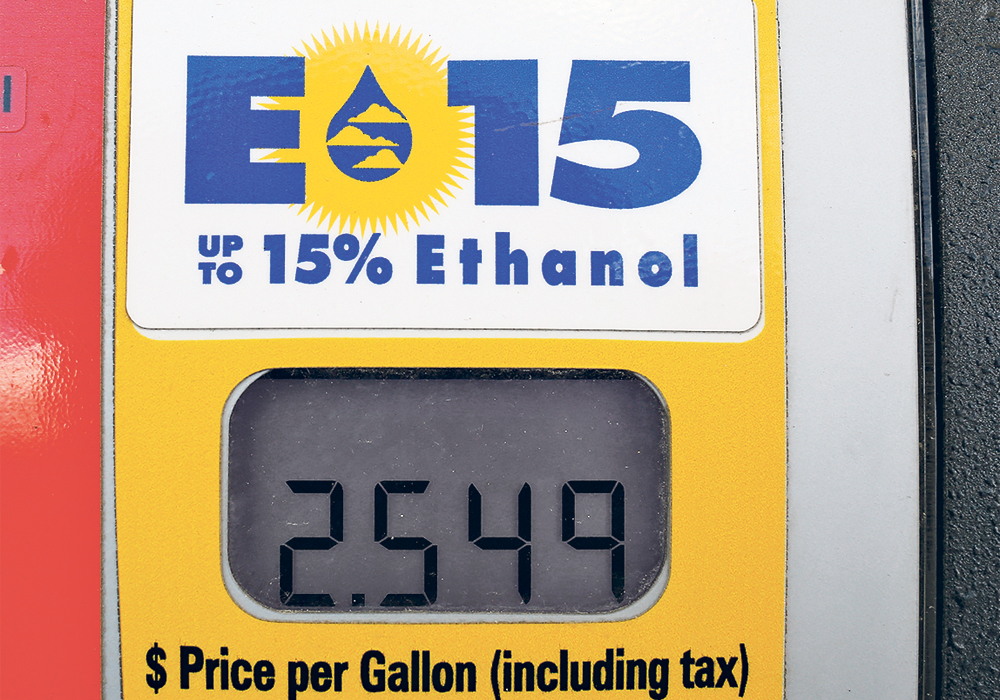 Refineries are required to blend 15 billion gallons of ethanol annually under the U.S. Renewable Fuel Standard, but the government can exempt small facilities that demonstrate compliance would hurt them financially.  |  REUTERS/Jim Young photo