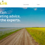 The sale means FarmLink, which provides grain marketing services in Western Canada, will use Ag Exchange's CXN360 technology when working with clients. | Screencap via farmlinksolutions.ca