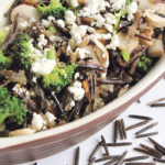 The nutty flavour and chewy texture of baked wild rice is a delicious, comforting hot dish for cold days. Serve with any meat and a salad.  |  Betty Ann Deobald photo
