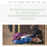 Feds commit $3.7 million to tackle homelessness in rural Alberta