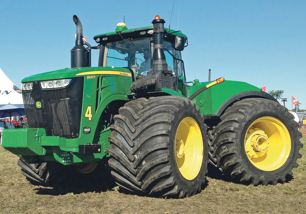 Titan/Goodyear Farm Tires says the relationship between tire pressure and compaction has joined the long list of agronomic factors that producers must juggle.  |  Goodyear photo
