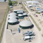 Bio-waste plant to produce natural gas