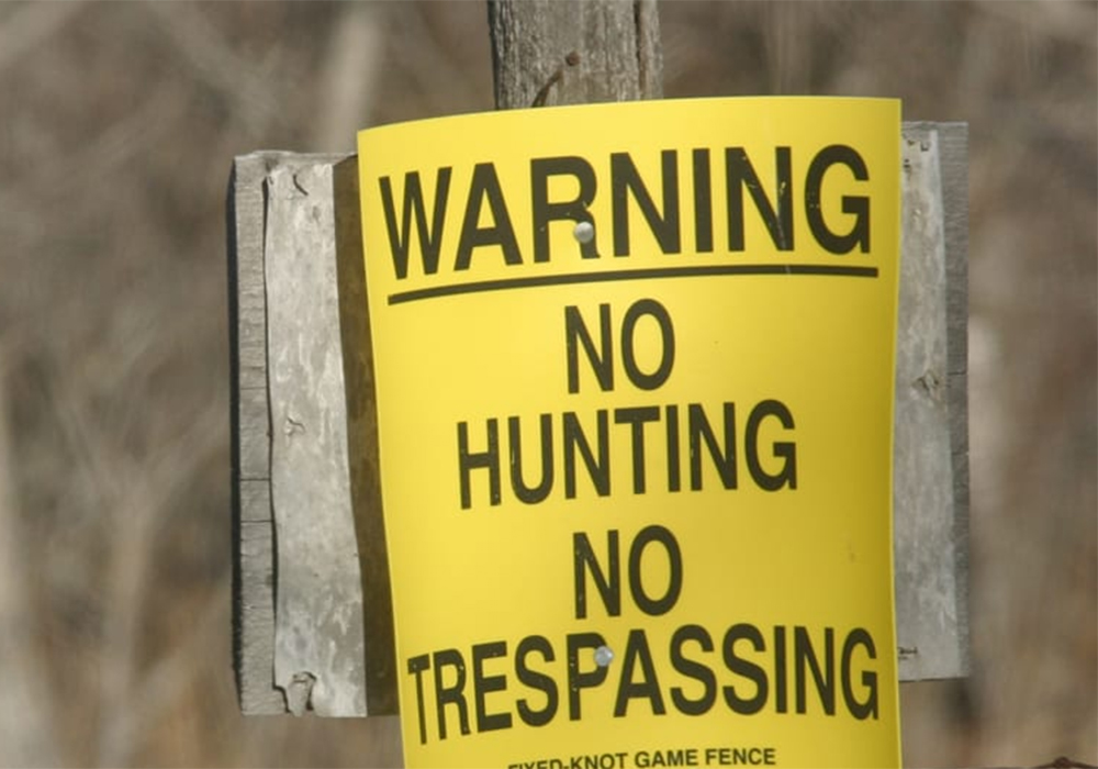 The potential amendments are part of larger changes to trespassing rules in the province. Manitoba's agriculture and justice departments are working together to modernize trespassing legislation, which includes amendments to the Petty Trespasses Act, the Occupiers' Liability Act and the Animal Diseases Act. | File photo