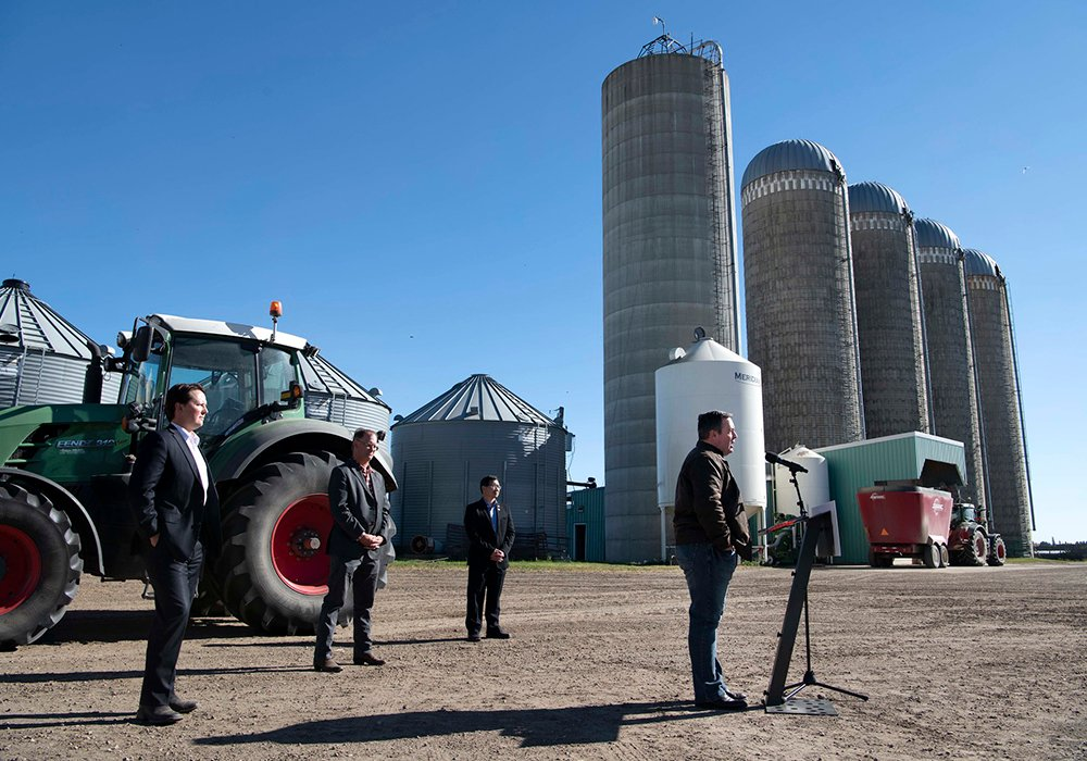 Alberta Premier Jason Kenney plans to help the province's farmers by aggressively boosting agricultural exports in markets around the world. | Flickr/Chris Schwarz/Government of Alberta photo