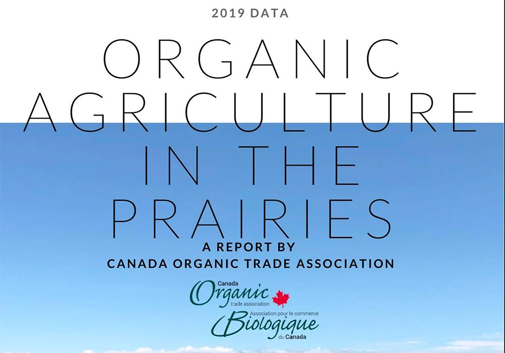 From 2017 to 2019, certified organic acres have been around 1.7-1.8 million. | Screencap via canada-organic.ca