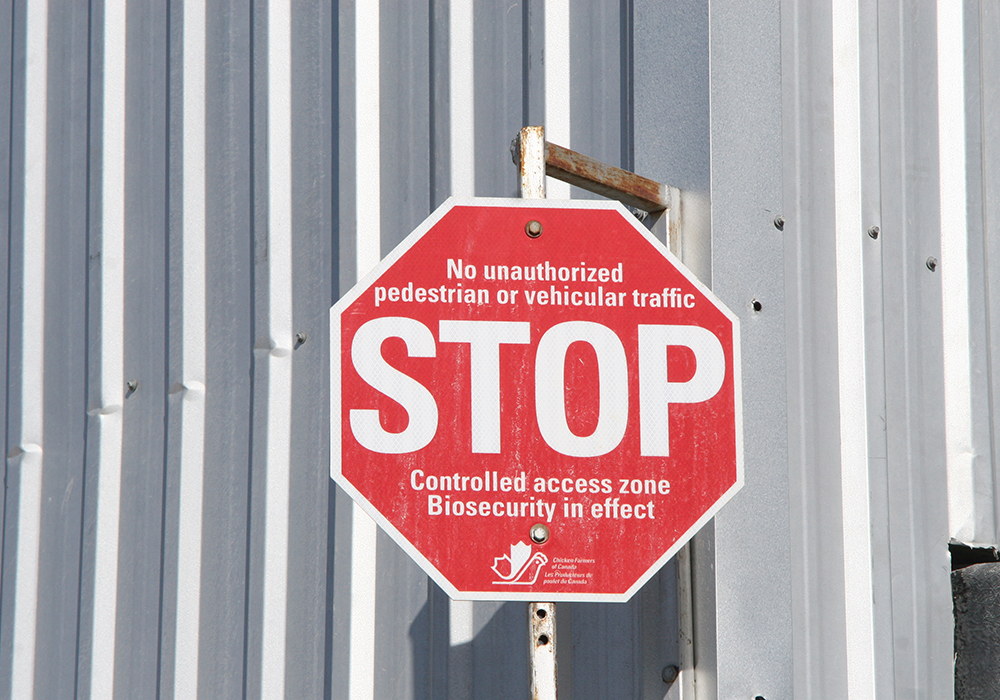 Bill C-205, sponsored by Foothills MP John Barlow, would make it an offence to enter, without authorization, a barn or place where animals are kept. The intent is to prevent the animals from being exposed to disease.